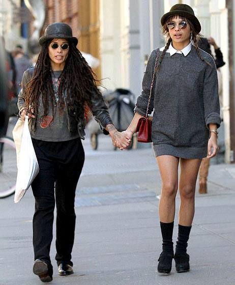 Zoe Kravitz Fashion: Lisa Bonet & Zoe Kravitz - AfroPunk