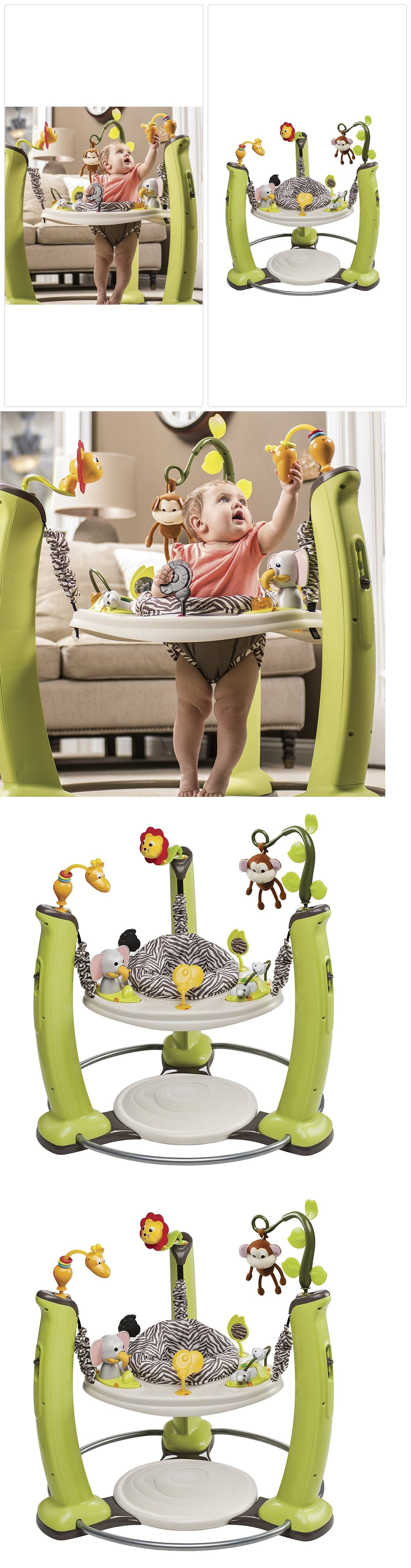 e6524302ba4 Baby Jumping Exercisers 117032  Evenflo Exersaucer Jump Learn Stationary  Jumper - Jungle Quest Safari Zebra -  BUY IT NOW ONLY   142.34 on eBay!