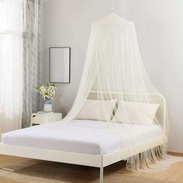 Sandown Collapsible Hoop Sheer Mosquito Net Bed Canopy In 2020 Bed Sizes Mosquito Net Bed Bed Net