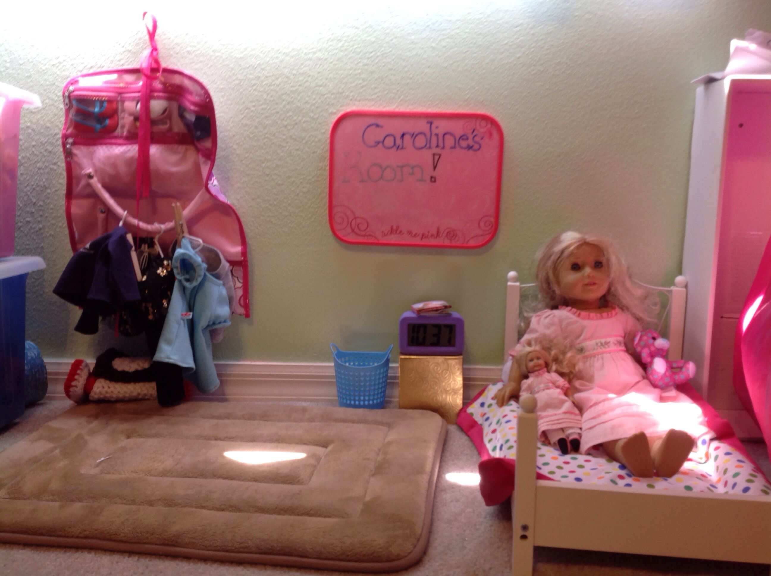 Instead of buying an american girl doll room i just went - Cool things to buy for your room ...