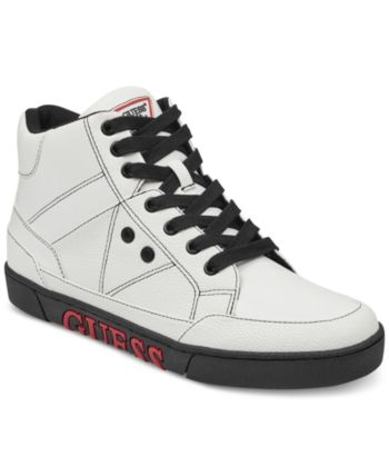 1b0b10744cb54 Guess Men's Annex High Top Sneakers - White 10 | Products in 2019 ...