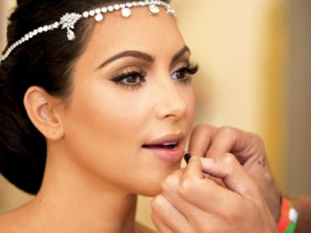 More Kim Kardashian Bridal Makeup