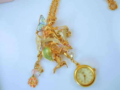 Kirks-Folly-Moonflower-Fairy-Pin-Pendant-Necklace-with-watch