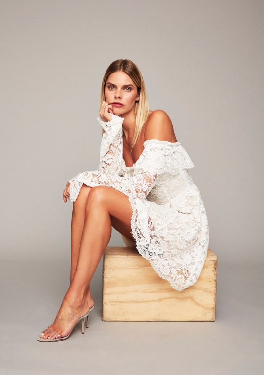3d2a18880f1 The REXFORD Dress in White Lace!  StoneColdFox