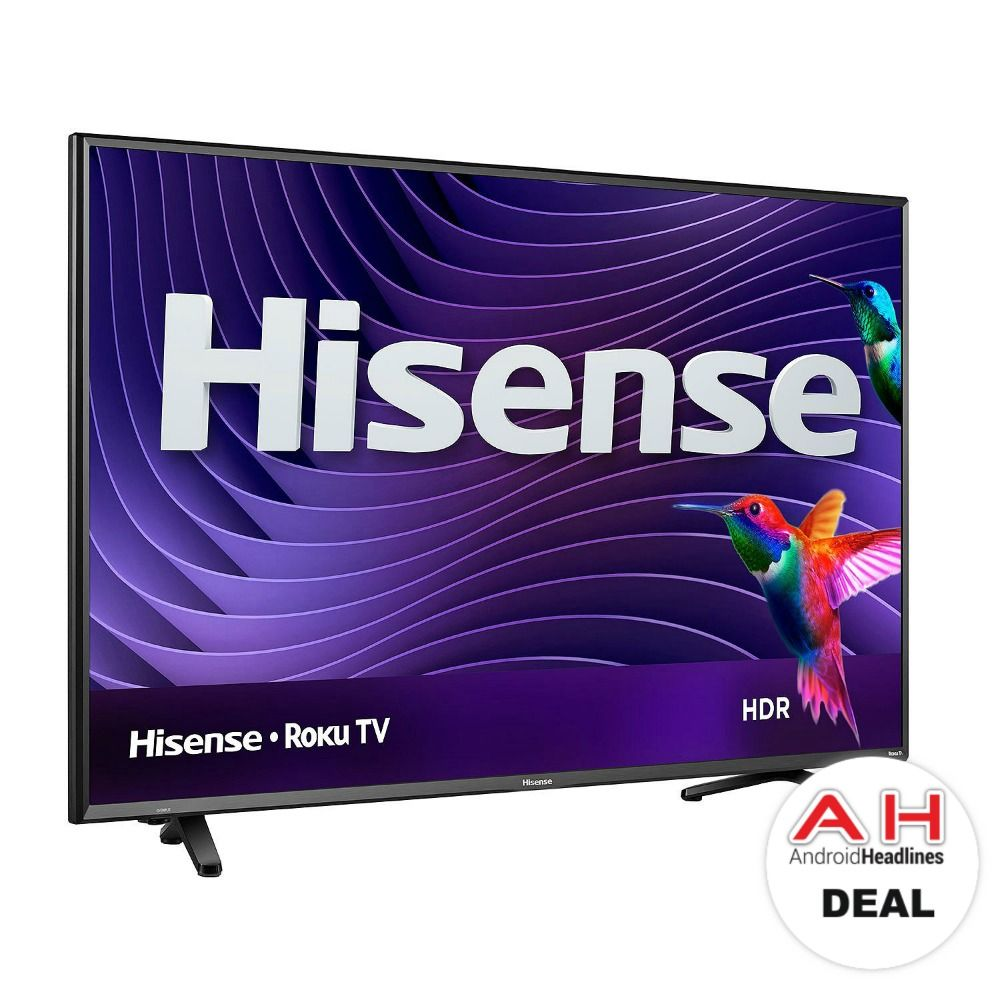 Deal Hisense 50 Inch 4k Ultra Hd Hdr Roku Tv For 298 11 24 17