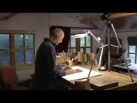 """""""Men in Sheds"""" - The Bookbinder - YouTube"""