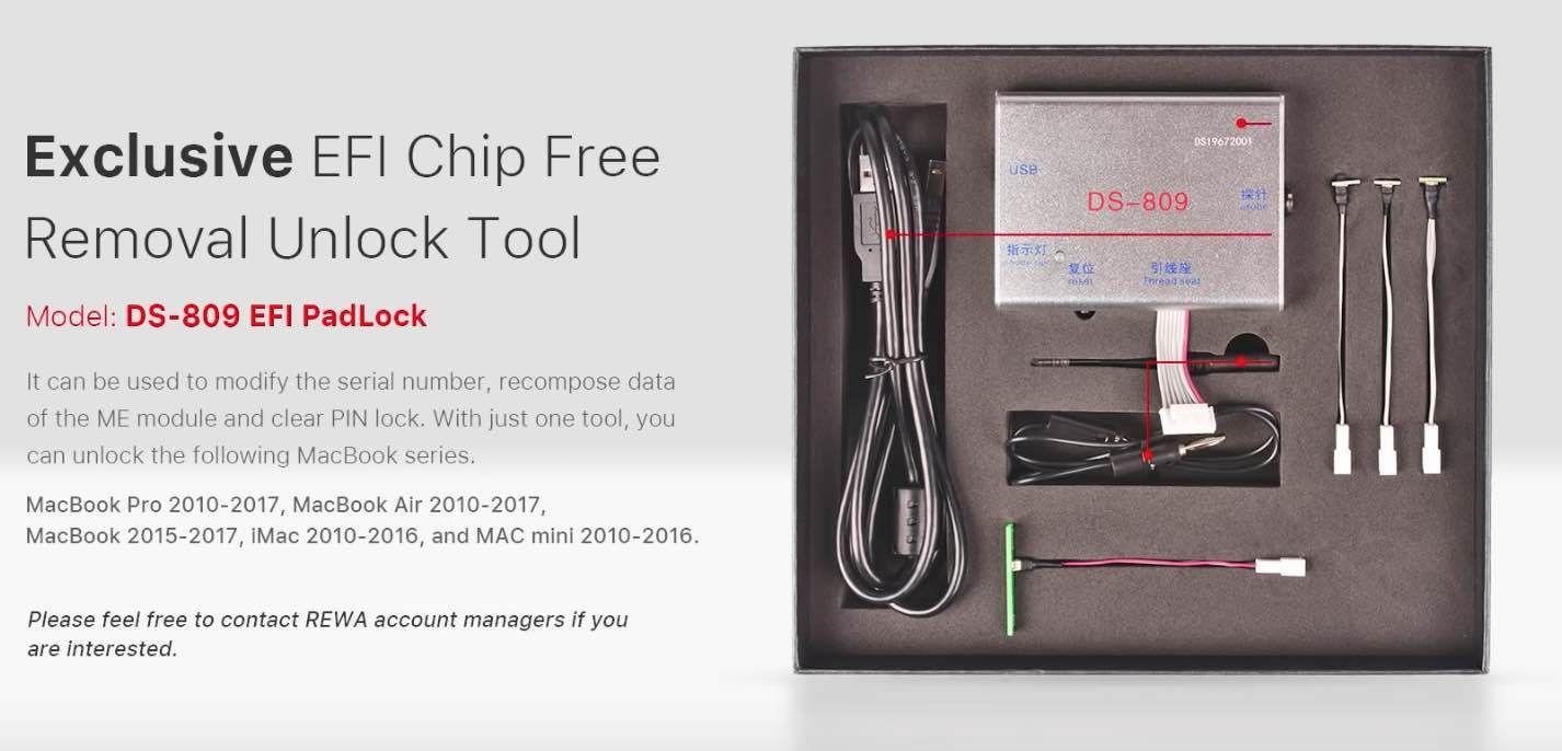 Unlock MacBook Pro Passcode or EFI with Unlocking Tool iCloud Unlock