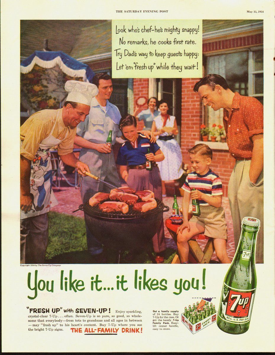 Barbecue was all the rage in the 1950s, when it first became
