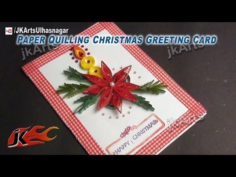 How to make paper quilling christmas candle greeting card jk arts how to make paper quilling christmas candle greeting card jk arts 450 youtube m4hsunfo