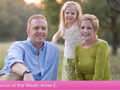 Early detection! Breast Cancer Survivor of the Week: Anne E.