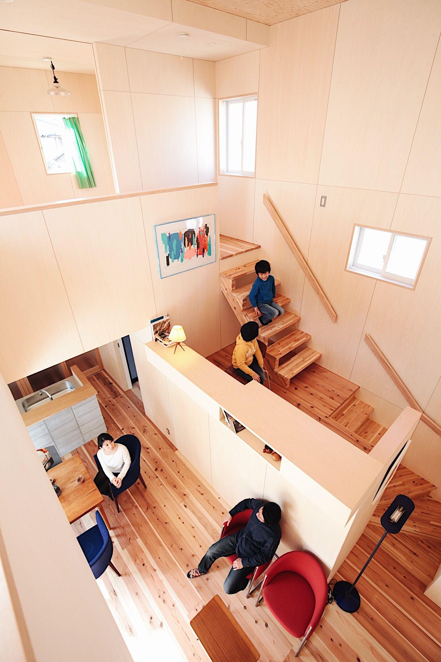 リビングデザインビューロ 吹き抜けの家 リビング デザイン