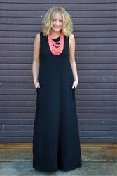 Plain and Simple Maxi - Black | #ShopMissChic