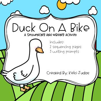 Duck On A Bike Sequencing Activity Duck On A Bike Sequencing Activities Sequencing Cards