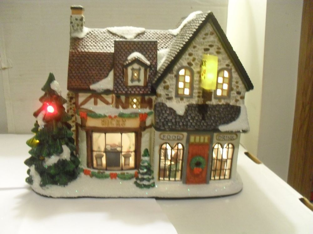 St Nicholas Christmas Village.St Nicholas Square Christmas Village Nick S Tavern Christmas