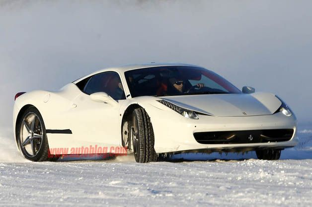 30+ Ferrari 458 Drifting Images Wallpaper In Snow  Pictures