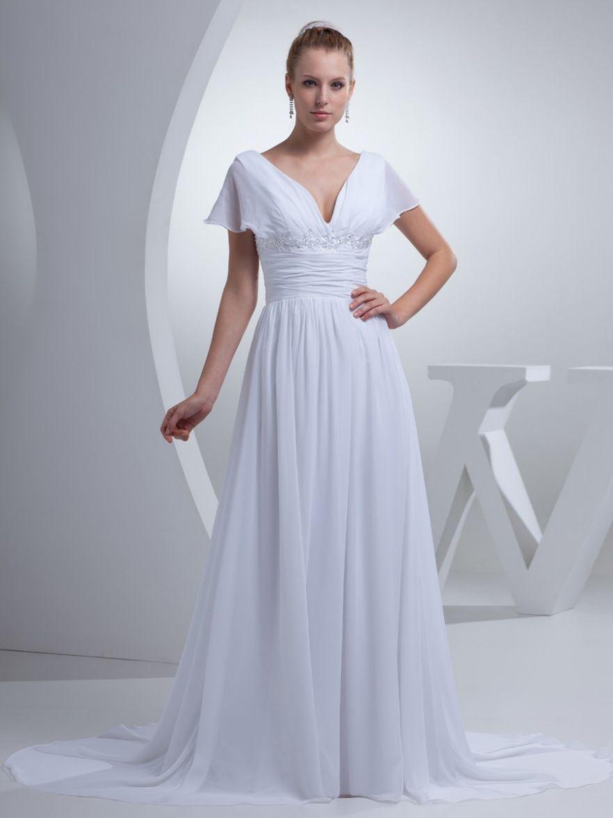 Pin by amy miller on wedding dresses pinterest chiffon wedding