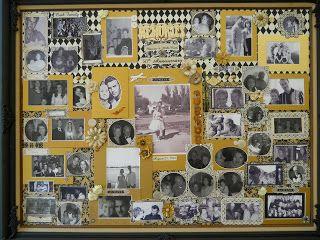 Kollage aus Fotos der letzten 50 Jahre als Geschenk oder Dekoration für die Goldene Hochzeit I Tapestry House's Unforgettable Wedding Stories: 50th Wedding Anniversary Collage of Wedding Day Photos