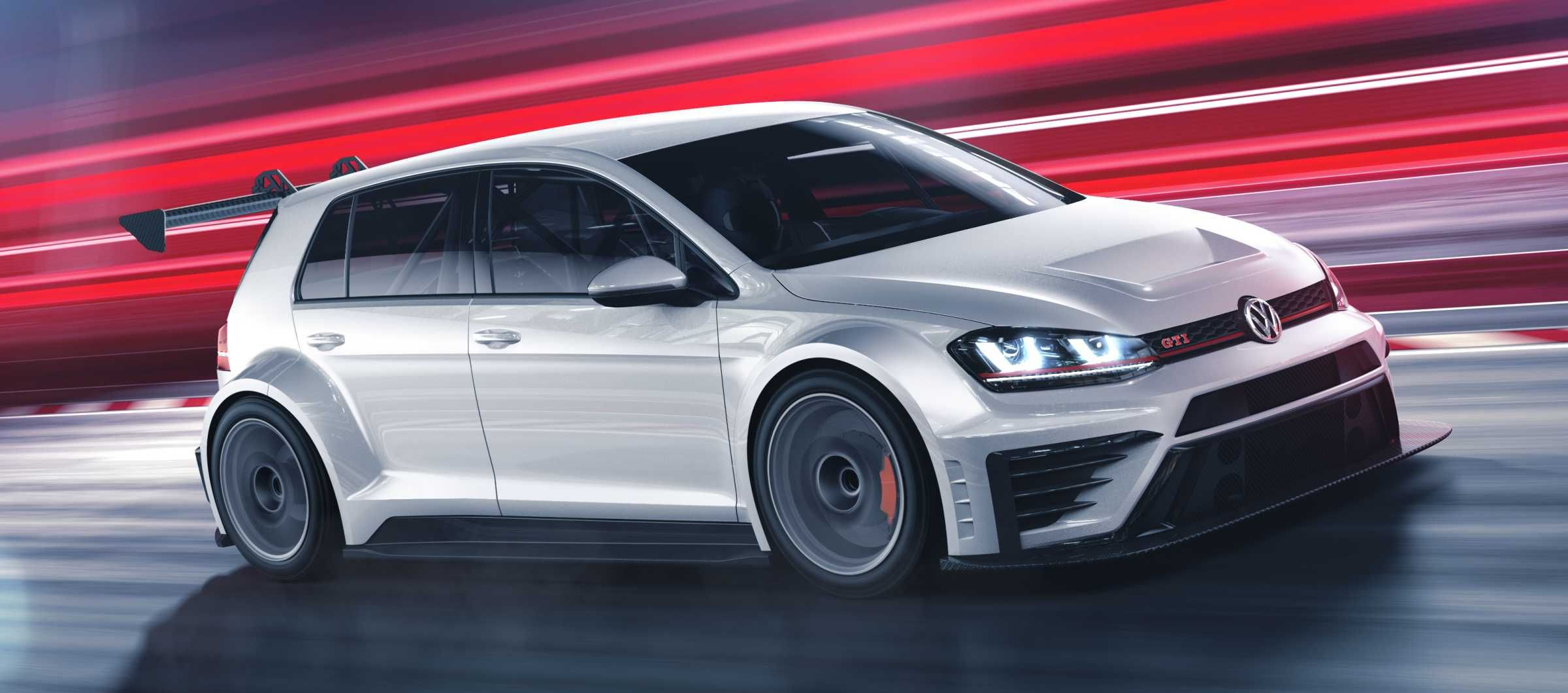Volkswagen debuts a track specific golf gti for the car s 40th birthday