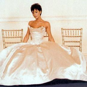Most Iconic Celebrity Wedding Dresses Victoria Beckham