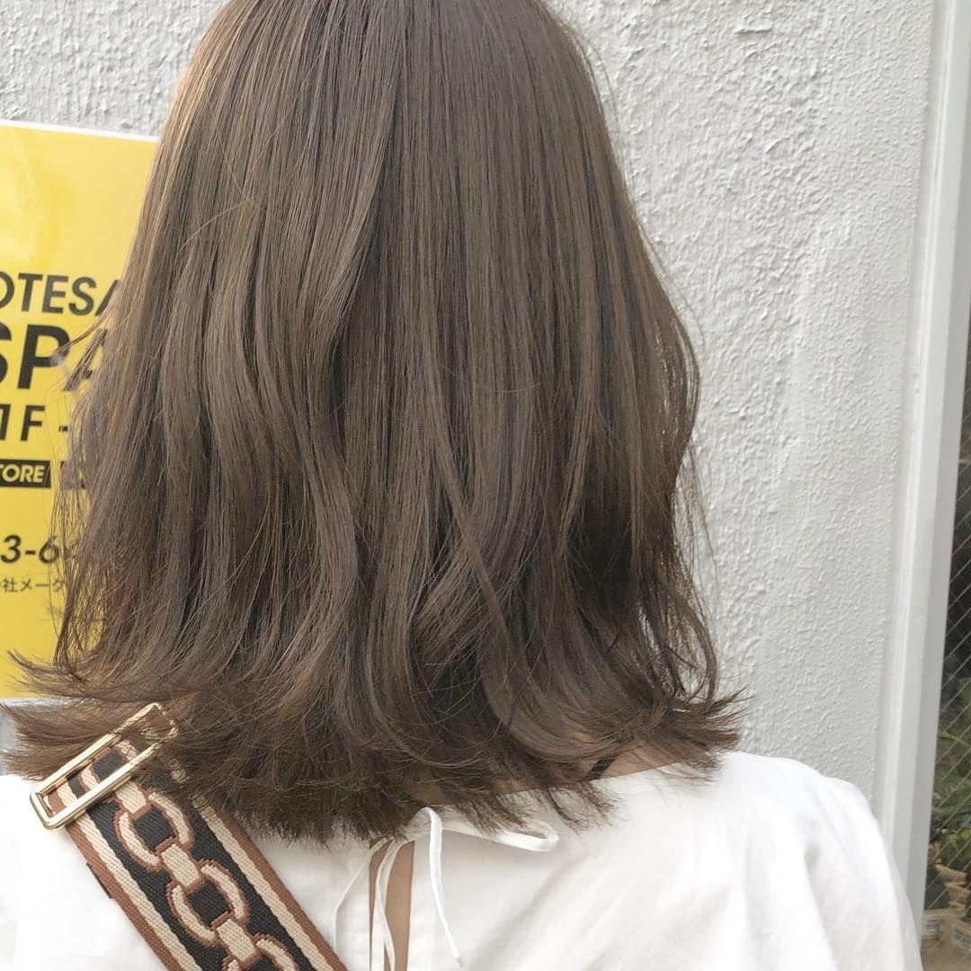 グレージュ オリーブ 色落ちまで、かわいい髪色【グレージュ】にしなきゃ損!暗め・明るめヘアカタログ MINE(マイン)