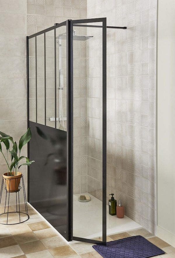 Parois line prestige style atelier salles de bains le savoir bien faire salle de bains - Salle de bain style atelier ...