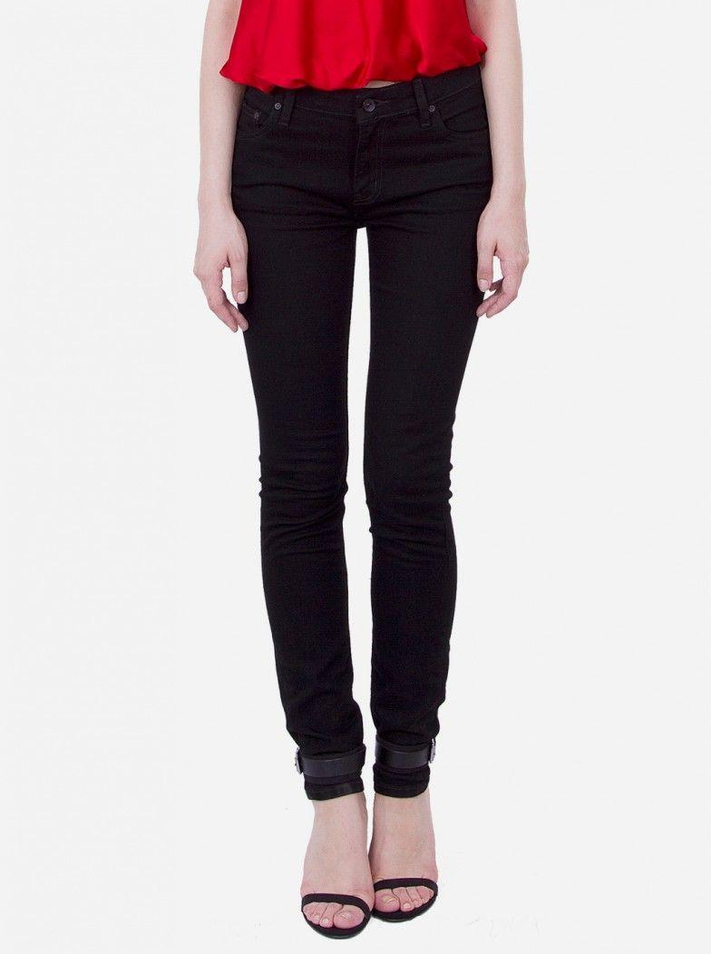 876ceb5afa Only 32! WESC Womens Black High Waist LIZZY Skinny Leg Super Slim Jeans sz  27