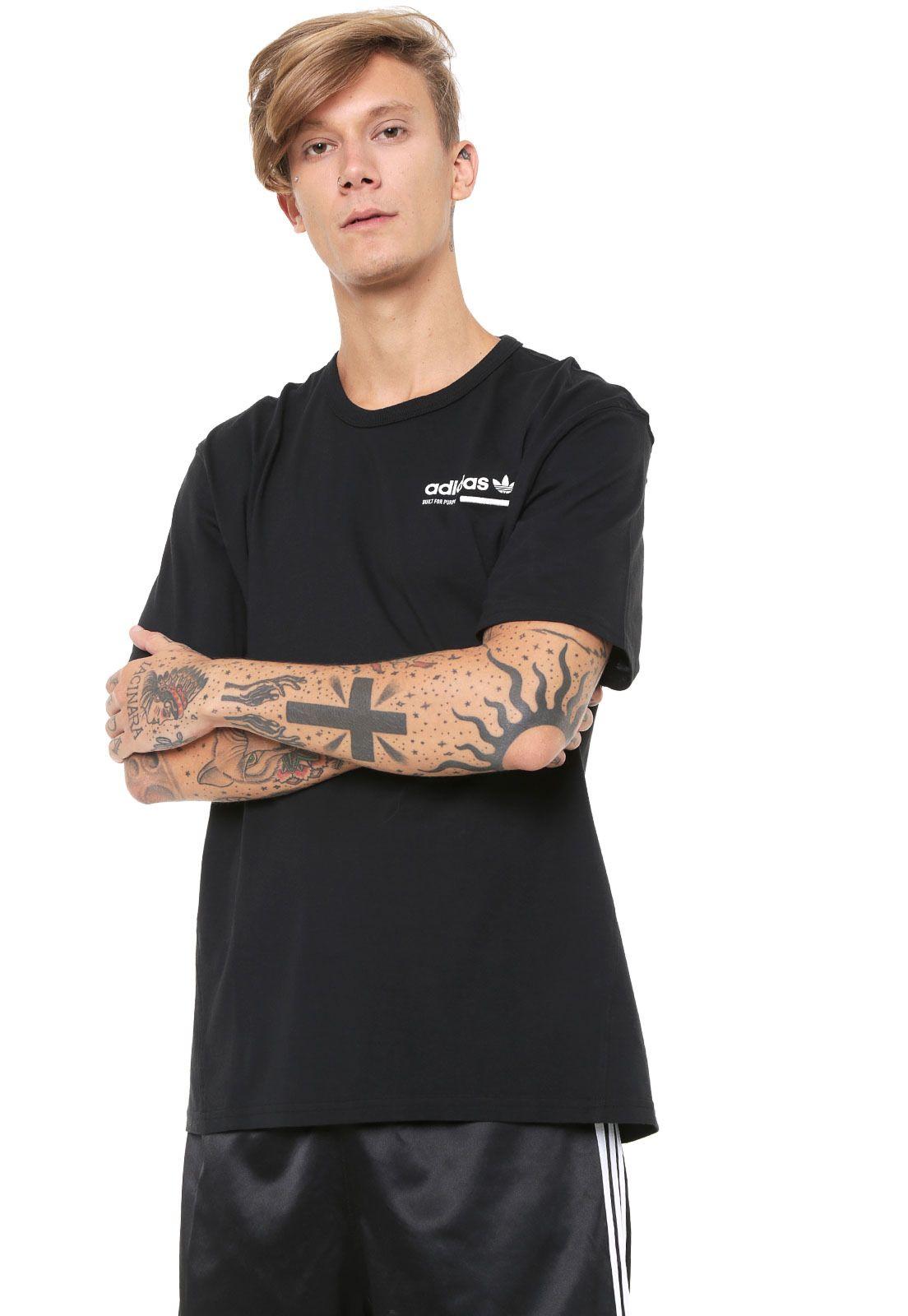 Camiseta adidas Originals Grp Preta   Camiseta adidas