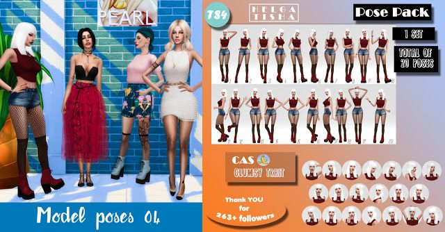 Sims 4 CC's - The Best: Poses by Helgatisha