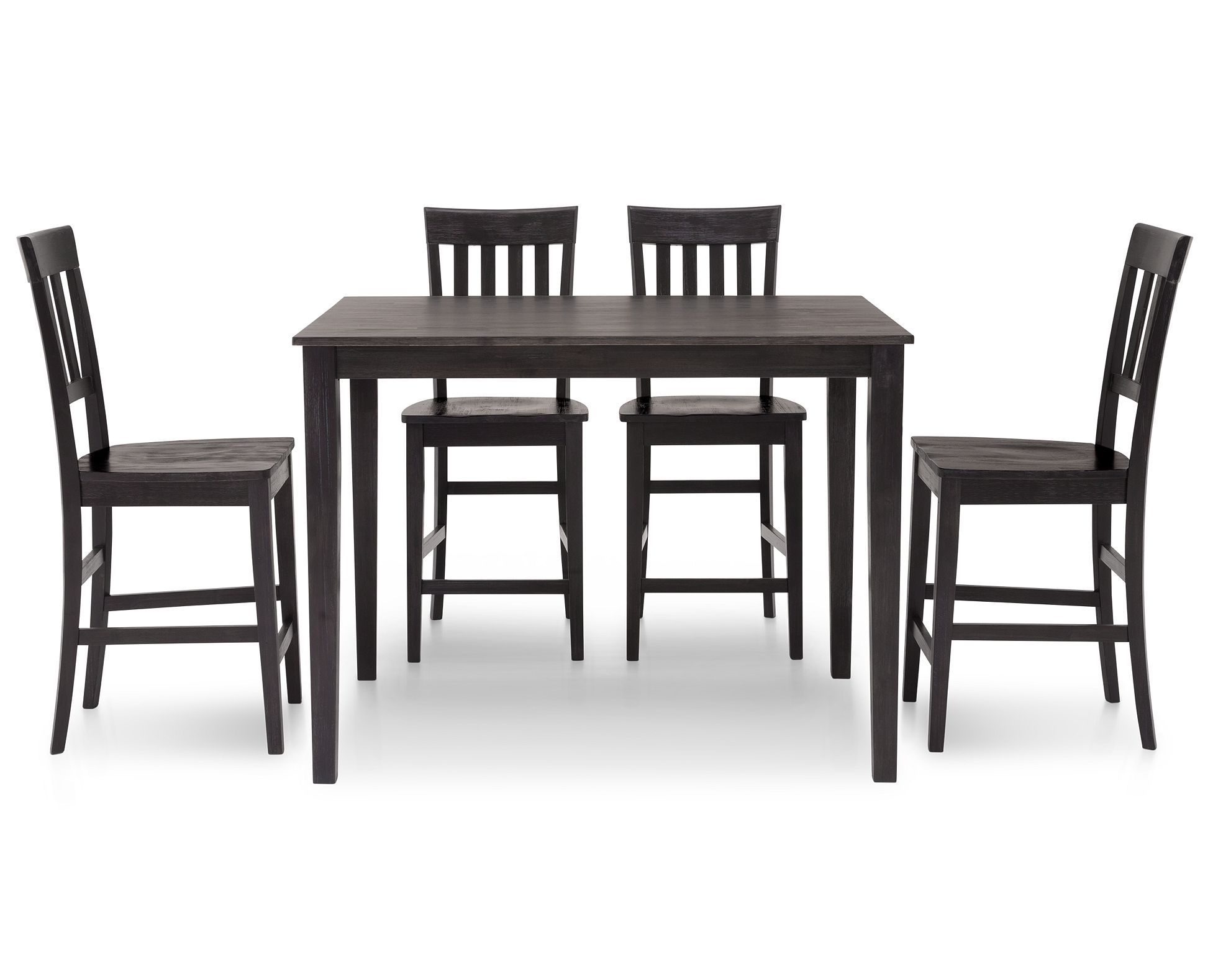 Mocha 5 Pc Counter Height Dining Room Set Counter Height Dining