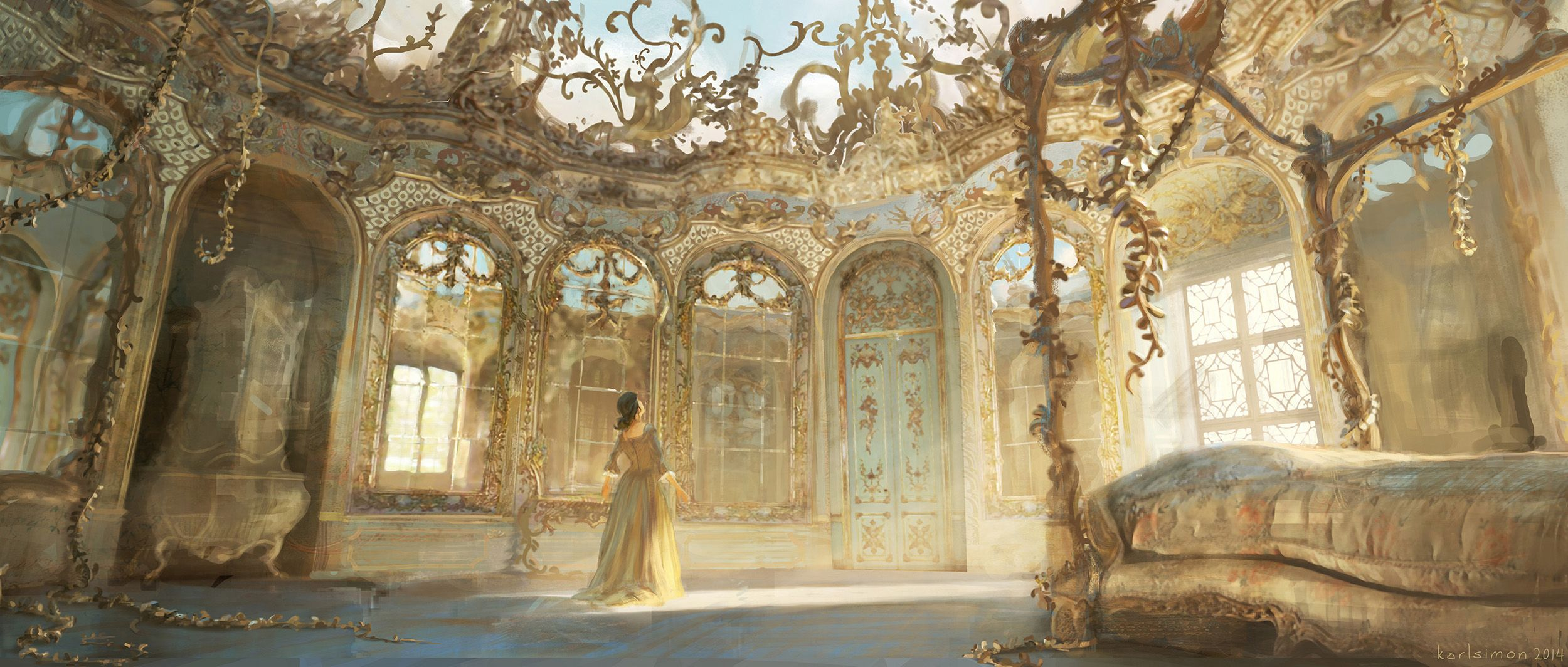 Beauty And The Beast Concept Art By Karl Simon With Images