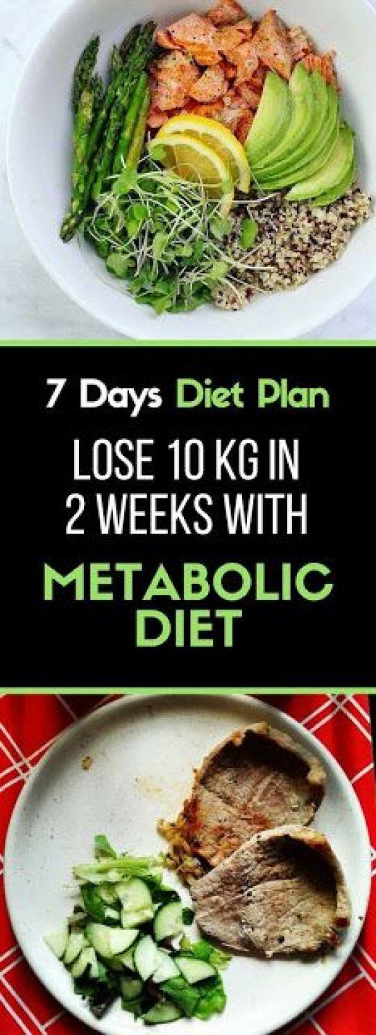 7 Dagen Dieetplan Verlies 10 Kg In 2 Weken Met Het Metabolische Dieet Deze Metaboli 7 Daagse Dieetplan 7 Day Diet Plan Metabolic Diet Healthy Eating