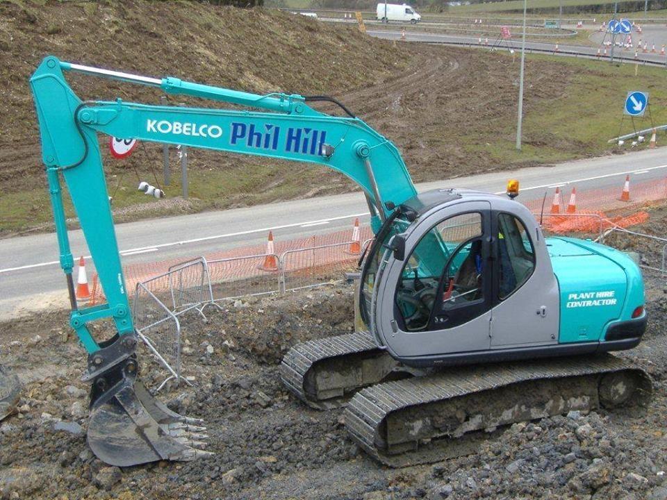 Kobelco Sk120 Excavator Parts Excavator Construction Equipment