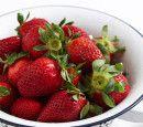 Strawberry and rhubarb bake recipe
