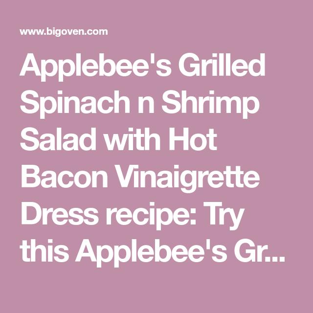 Recipe Not Found Recipe Fun Salads Vinaigrette Dressing Shrimp Salad