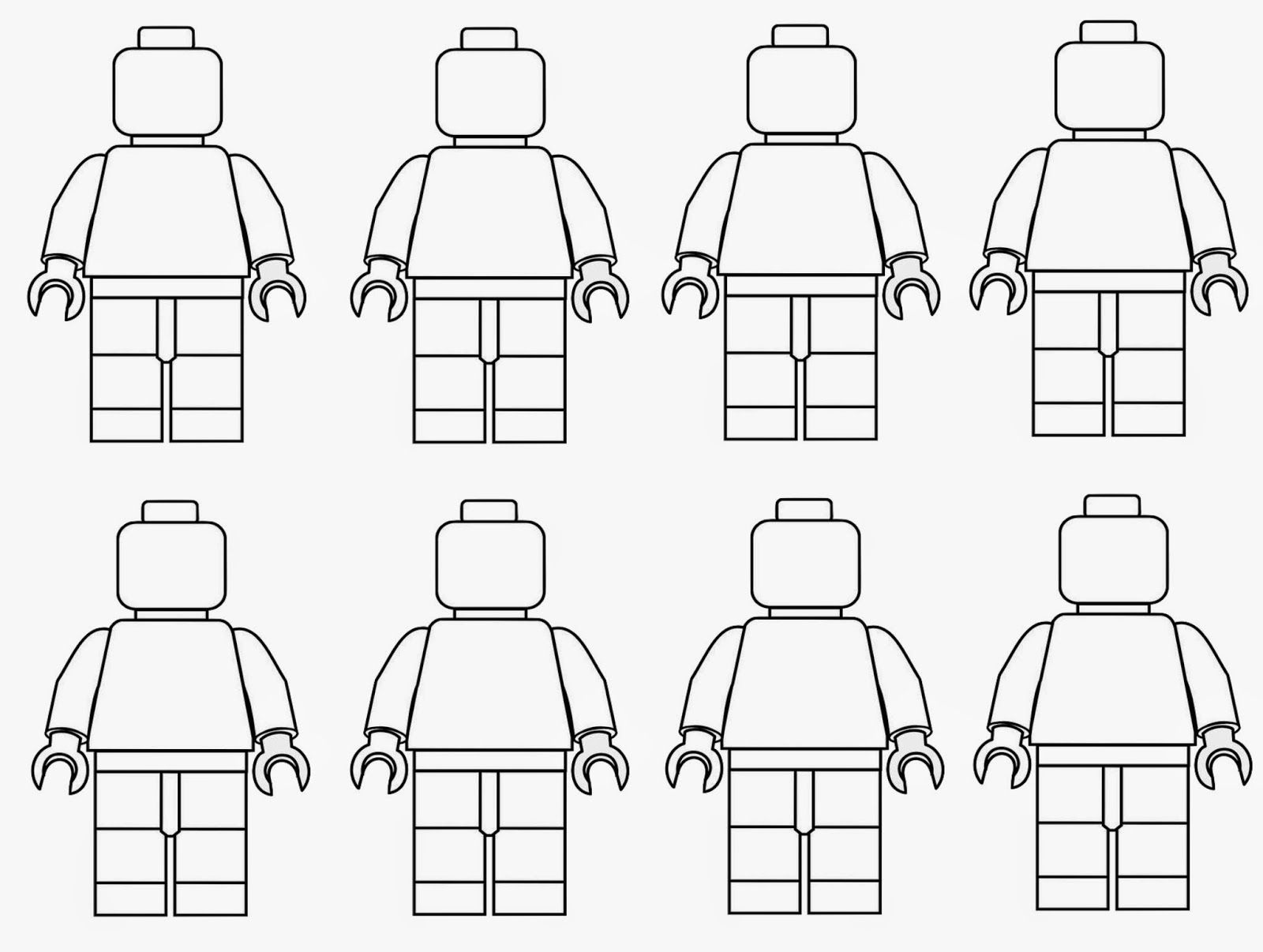 Spring Time Treats Lego Men Coloring Page Lego Coloring Pages Lego Coloring Lego Man