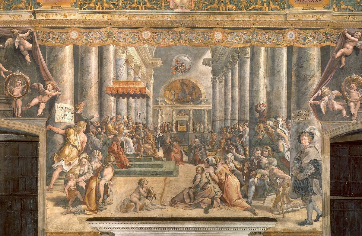 Raphael - The Parnassus - Raphael Rooms - Wikipedia, the free encyclopedia