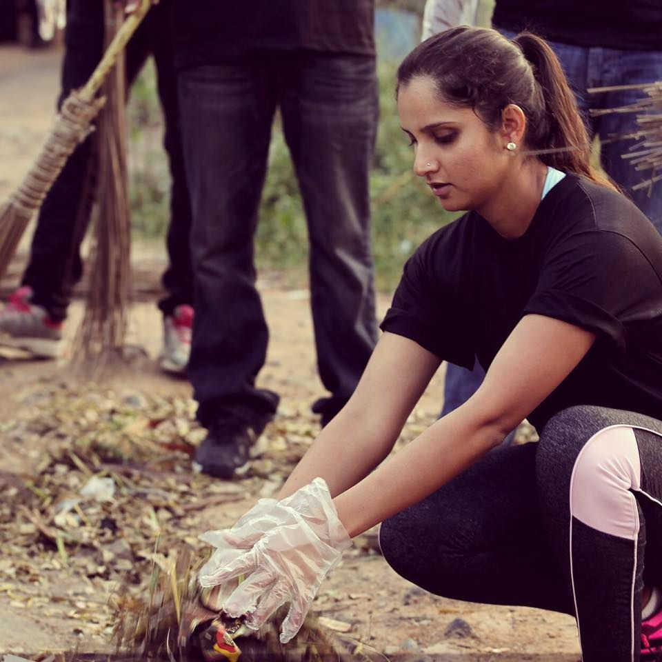 sania mirza at swatch bharat tennis swatch sania mirza at swatch bharat