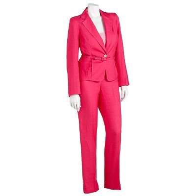 b7c05ef6a0 Signature by Larry Levine Pleated Suit Jacket and Pant Set - kohl s ...