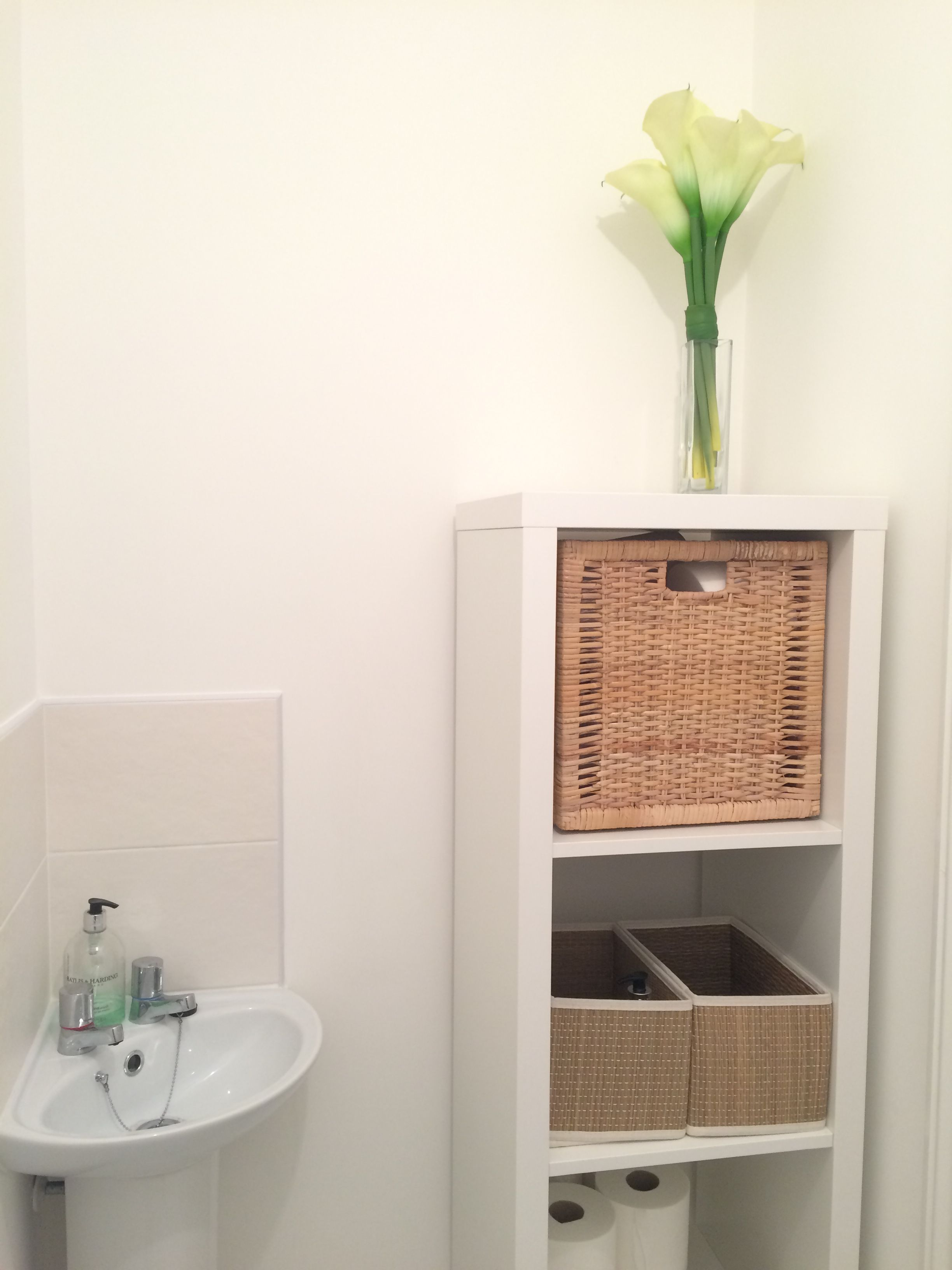 Ikea Badezimmer Einrichtung Ikea Kallax Downstairs Bathroom Toilet Badkamer Pinterest
