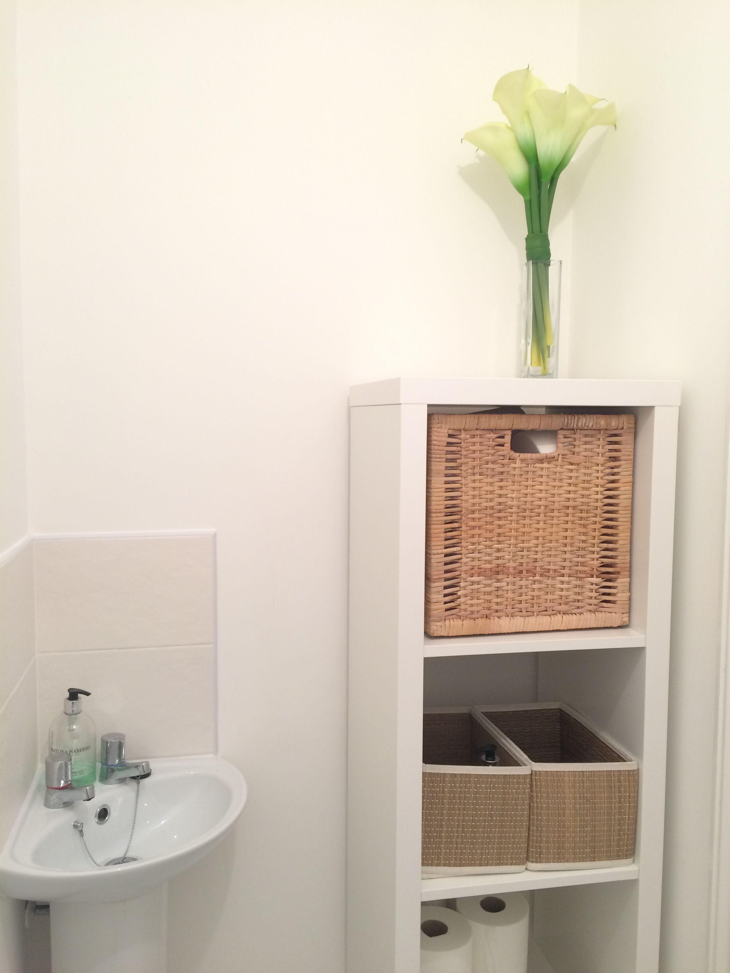 Ikea Kallax Downstairs Bathroom Badezimmer Im Erdgeschoss Ikea Bad Lagerung Ikea Badzubehor