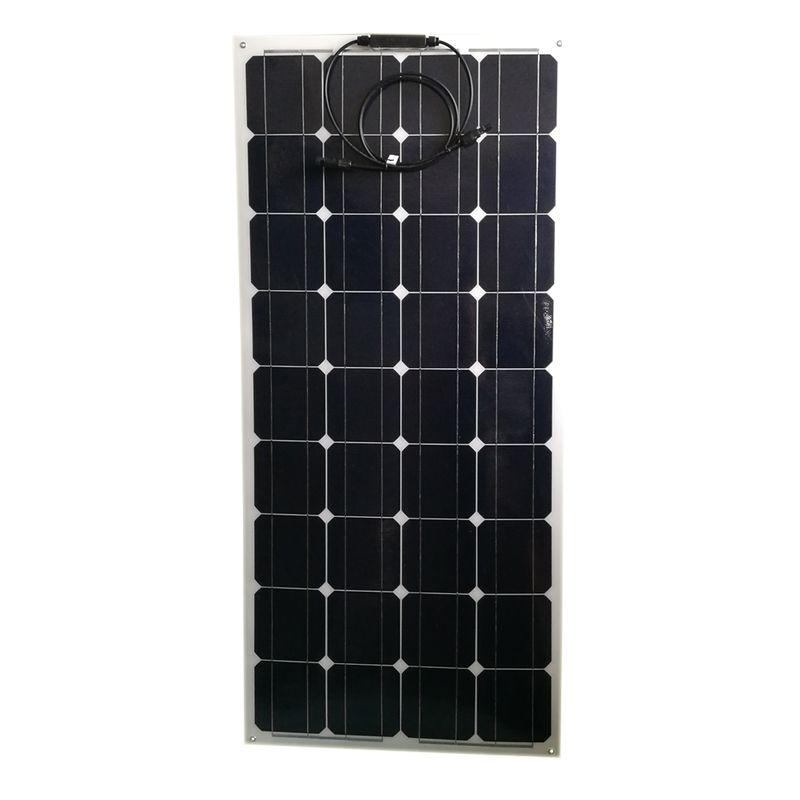 Sold 3278094320 Items Portable Flexible Solar Panel 12v 100w Monocrystalline Solar Charger Battery Caravan Campin Solar Charger Flexible Solar Panels Boat Led