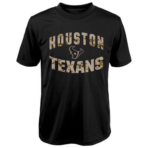 4f25f18d Houston Texans Youth Black Camo Dri-Tek Synthetic T-Shirt | I'm a ...