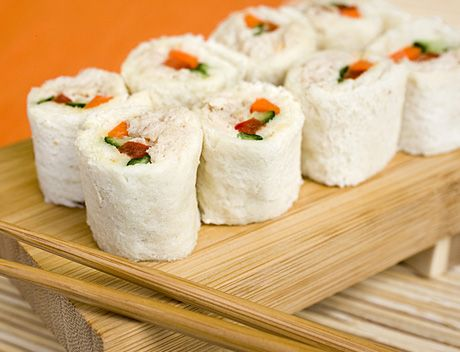 Do the twist 16 new takes on kids recipes sushi sandwich tuna do the twist forumfinder Choice Image
