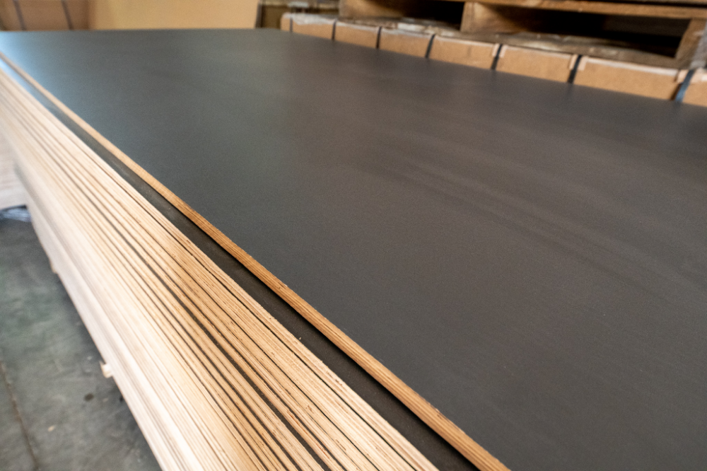 18mm Plywood Sheet Dark Gray Pitted Melamine Ultimate Building Supplies Plywood Sheets 18mm Plywood Plywood