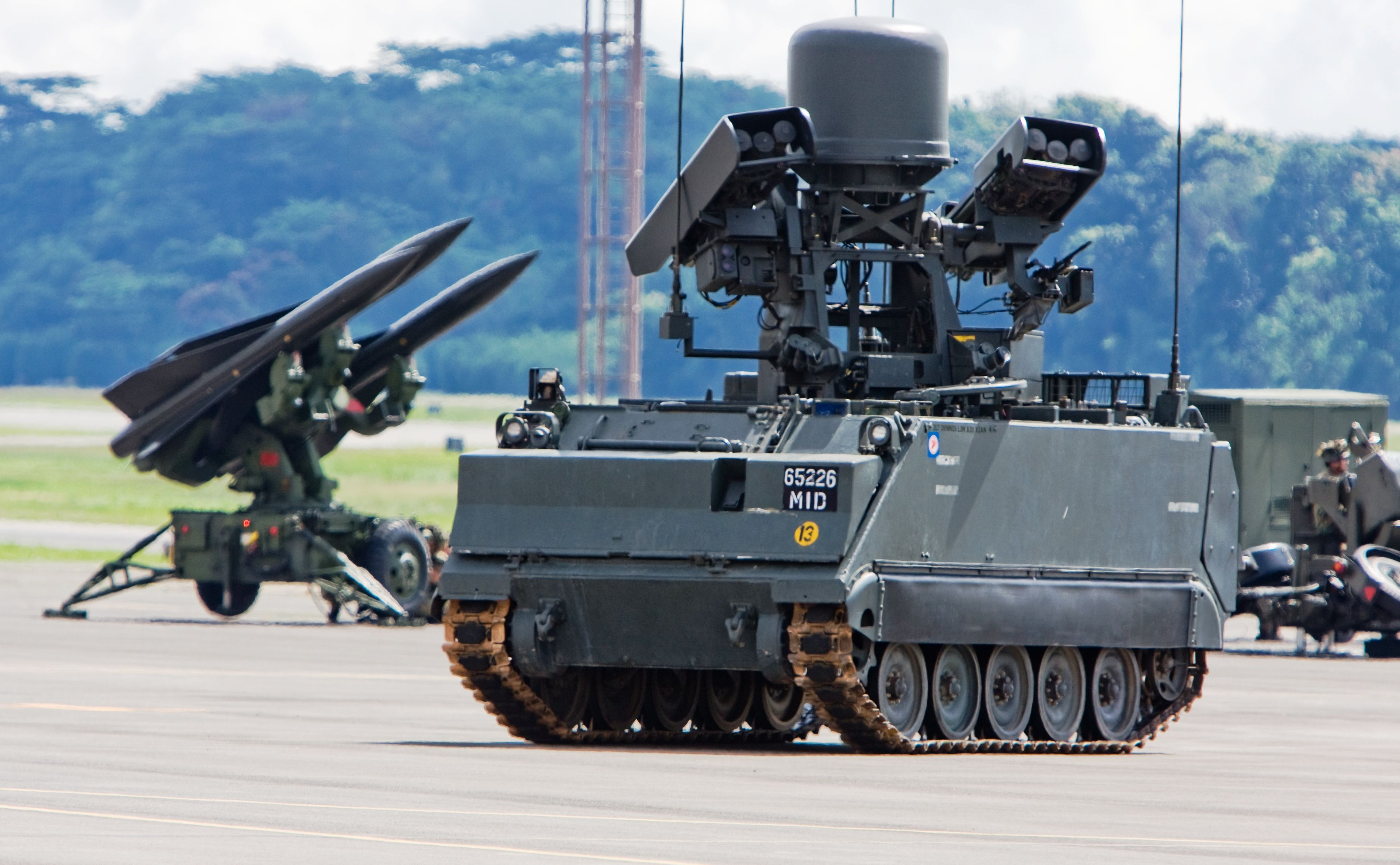 M113A2 Ultra Mechanised Igla Short-Range Surface-to-Air Missile (Singapore)
