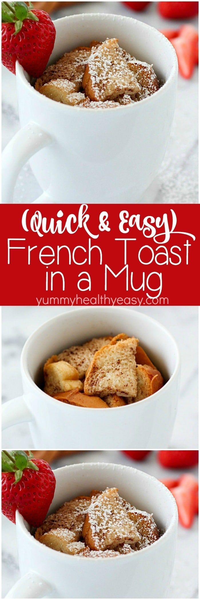 Stone Wave Dessert Recipes Easy Mug French Toast Recipe Stone Wave Recipes