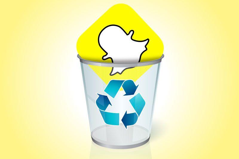 حذف حساب سناب شات نهائي قفل Snapchat Snapchat Snapchat Account Image