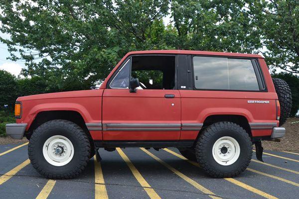 for sale: 1989 isuzu trooper rs | ride | pinterest | 4x4 off road