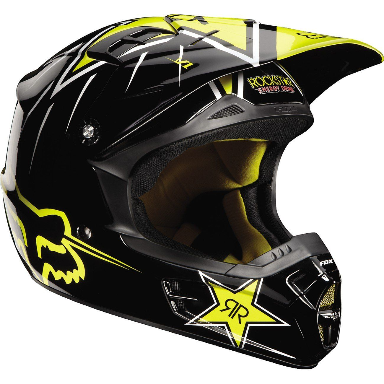 Fox Racing V1 Rockstar Youth Helmet - Chaparral Motorsports