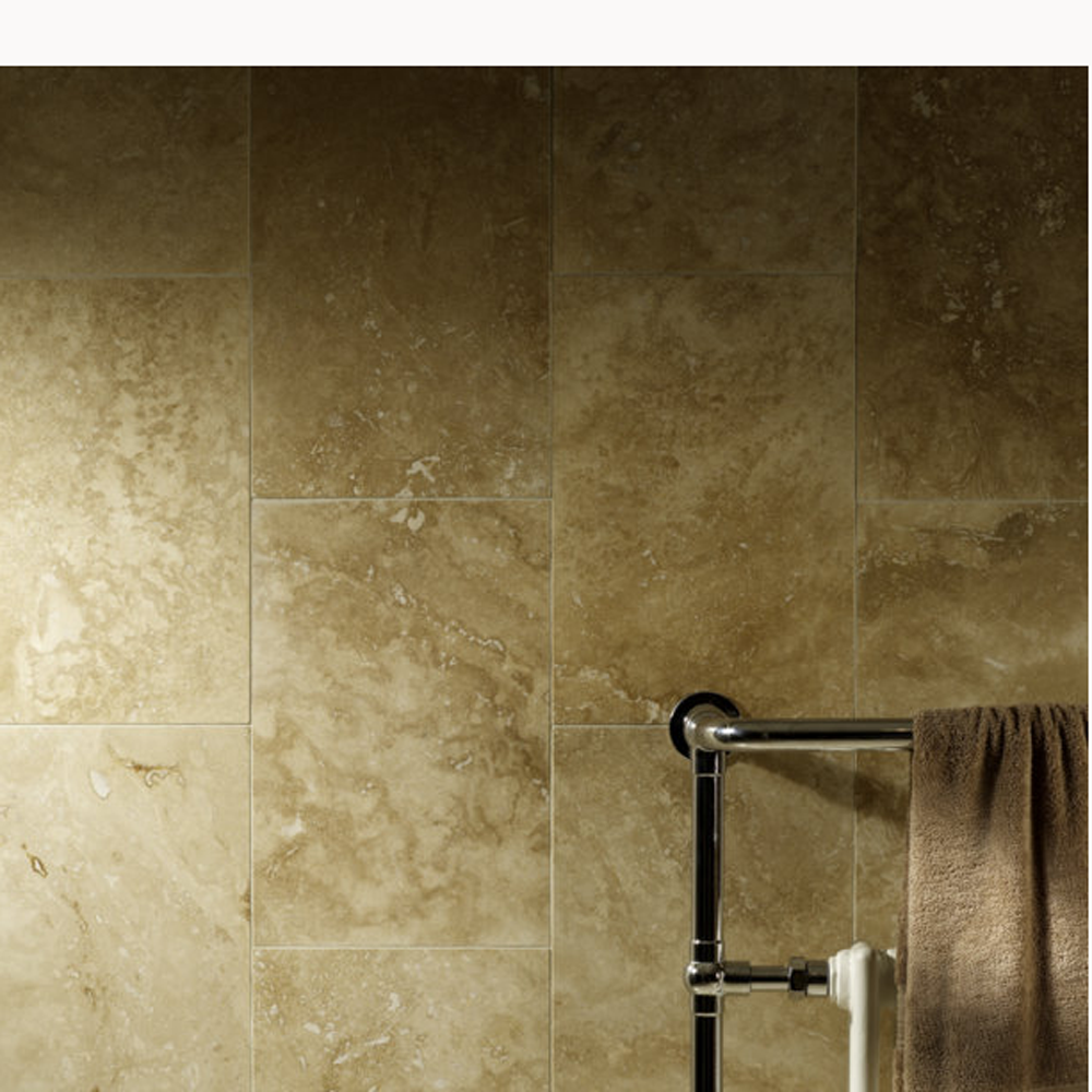 This commercial grade travertine tile is ideally suited to